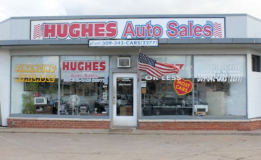 Hughes Auto Sales Store Front